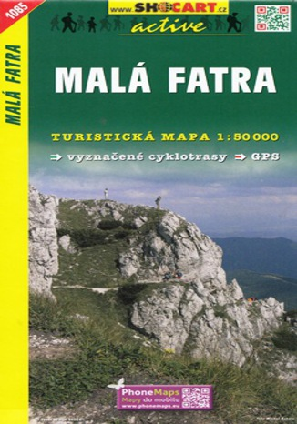 Okładka książki Malá Fatra, 1:50 000