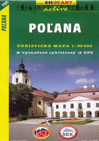 Okładka książki/ebooka Poľana, 1:50 000