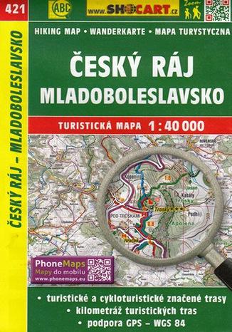 Okładka książki Český ráj, 1:40 000