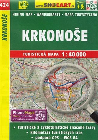 Okładka książki/ebooka Krkonoše, 1:40 000