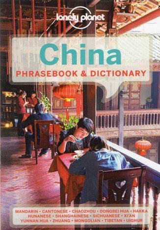 Okładka książki China Phrasebook (Chiny rozmówki). Rozmówki Lonely Planet