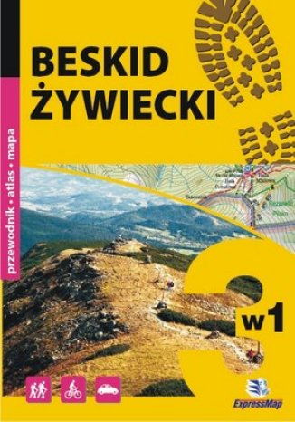 Okładka książki/ebooka Beskid Żywiecki. Przewodnik 3w1