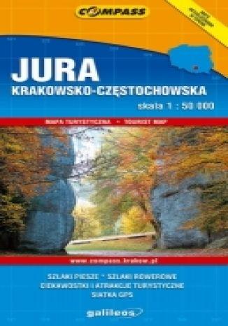Okładka książki Jura Krakowsko - Częstochowska. Mapa turystyczna