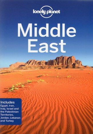 Okładka książki/ebooka Middle East. Przewodnik Lonely Planet