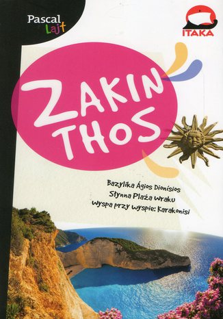 Okładka książki Zakinthos. Przewodnik Pascal Lajt
