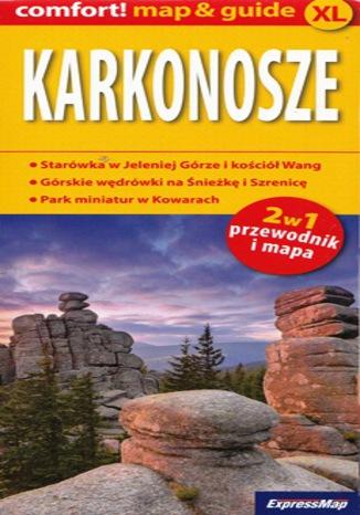 Okładka książki Karkonosze 2w1. ExpressMap
