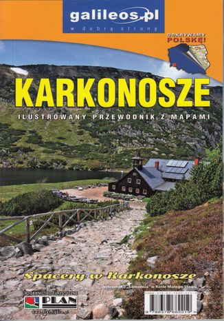 Okładka książki/ebooka Karkonosze. Przewodnik Plan