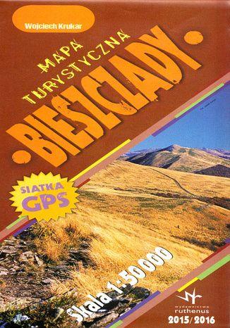Okładka książki Bieszczady. Mapa Ruthenus / 1:50 000