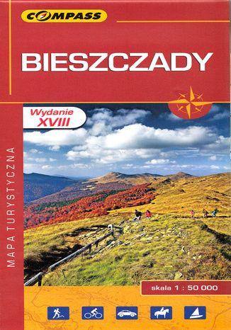 Okładka książki Bieszczady. Mapa Compass 1:50 000