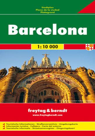 Okładka książki/ebooka Barcelona. Mapa Freytag & Berndt / 1:10 000