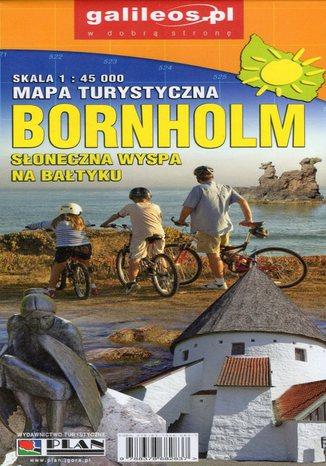 Okładka książki/ebooka Bornholm, 1:45 000
