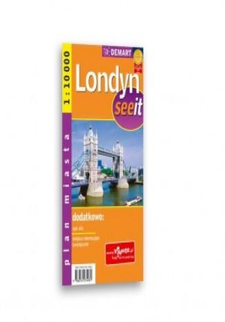 Okładka książki/ebooka Londyn. Plan miasta (See it)