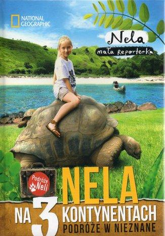 Okładka książki Nela na trzech kontynentach