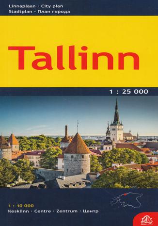 Okładka książki Tallinn, 1:25 000