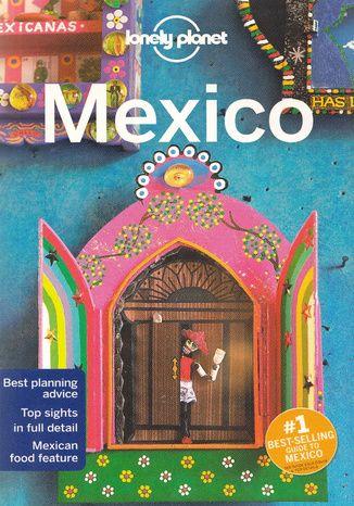 Okładka książki Mexico (Meksyk). Przewodnik Lonely Planet. 15th edition