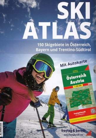 Okładka książki/ebooka Ski Atlas + Austria, 1:500 000