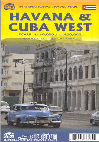 Okładka książki/ebooka Havana & Cuba West, 1:10 000 / 1:600 000