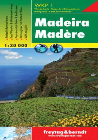 Okładka książki Madera Mapa turystyczna 1:30 000 Freytag & Berndt