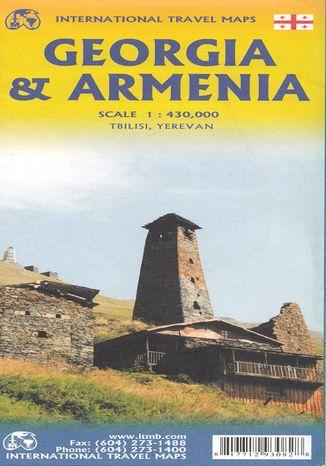 Okładka książki/ebooka Georgia and Armenia, 1:430 000