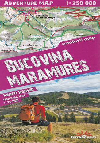 Okładka książki Bucovina, Maramures, 1:250 000