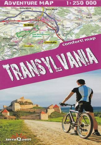 Okładka książki Transylvania, 1:250 000