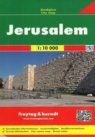 Okładka książki Jerozolima, 1:10 000