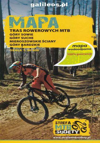 Okładka książki Mapa tras rowerowych MTB strefa Sudety, 1:50 000