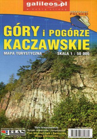 Okładka książki Góry i Pogórze Kaczawskie, 1:50 000