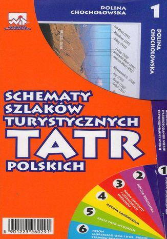 Okładka książki/ebooka Schematy szlaków turystycznych Tatr Polskich