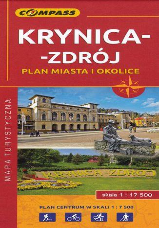 Okładka książki Krynica-Zdrój, 1:17 500