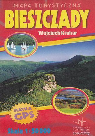 Okładka książki Bieszczady, 1:50 000