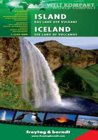 Okładka książki Islandia mapa z przewodnikiem 1:500 000 Freytag & Berndt