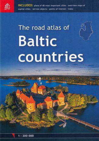 Okładka książki Baltic countries atlas samochodowy, 1:200 000
