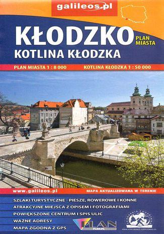 Okładka książki Kłodzko, Kotlina Kłodzka, 1:8 000 / 1:50 000