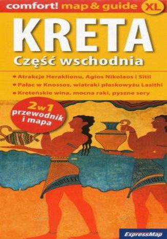 Okładka książki Kreta część wschodnia 2w1, 1:150 000
