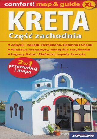 Okładka książki Kreta część zachodnia 2w1, 1:150 000
