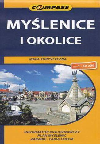 Okładka książki Myślenice i okolice, 1:40 000