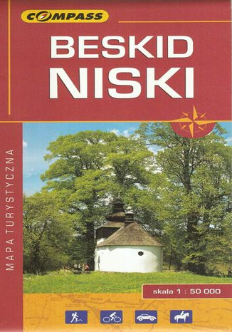 Okładka książki Beskid Niski, 1:50 000