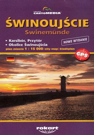 Okładka książki/ebooka Świnoujście, 1:15 000