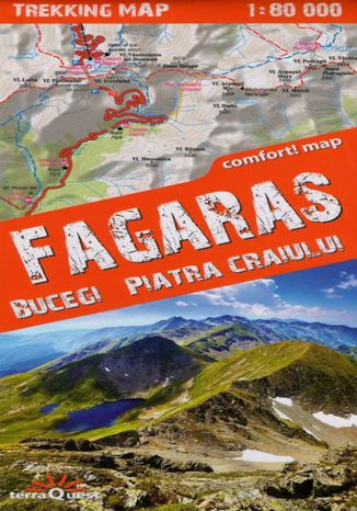 Okładka książki/ebooka Fagaras, 1:80 000