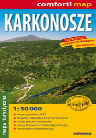 Okładka książki/ebooka Karkonosze. Mapa turystyczna (Comfort! Map)
