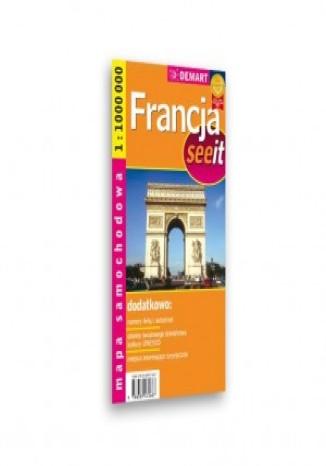 Okładka książki/ebooka Francja. Mapa samochodowa (See it)