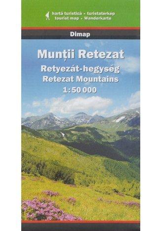 Okładka książki Góry Retezat. Mapa turystyczna Szarvas
