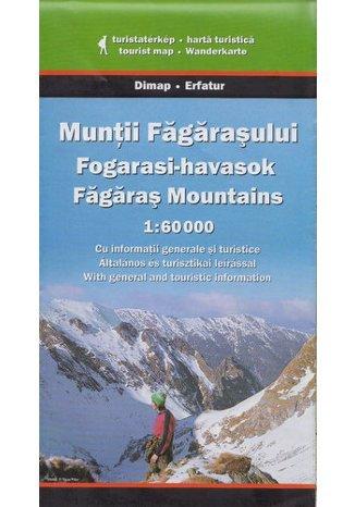 Góry Fogaraskie. Mapa turystyczna Szarvas