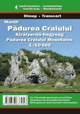 Góry Padurea Craiului. Mapa turystyczna