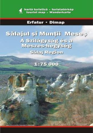 Region Salaj, Góry Meses. Mapa turystyczna