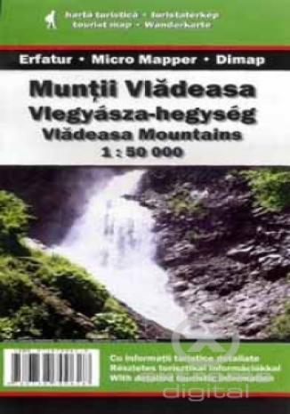 Góry Vlădeasa. Mapa turystyczna