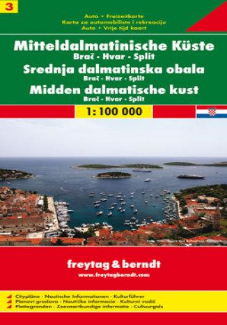 Okładka książki/ebooka Wybrzeże Dalmatyńskie