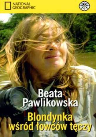Okładka książki Blondynka wśród łowców tęczy (okładka miękka)