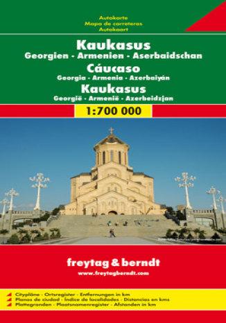 Okładka książki Kaukaz. Gruzja, Armenia, Azerbejdżan. Mapa samochodowa